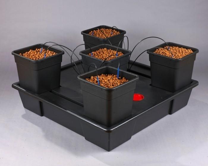 Wilma xxl 5 pot complete 25l pot for Pot exterieur xxl