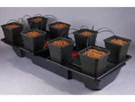 Wilma Large Wide 8 Pot Complete (18L Pot)